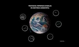 TRATADOS INTERNACIONALES EN MATERIA AMBIENTAL