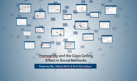 Copy of Homophily and the Glass Ceiling  Effect in Social Networks