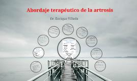Abordaje terapéutico de la artrosis