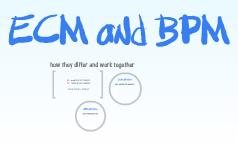 ECM and BPM