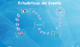 Estadísticas del evento