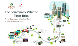 The Community Value of Town Trees