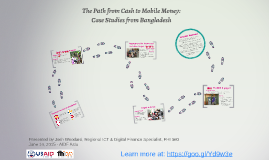 The Path from Cash to Mobile Payments: