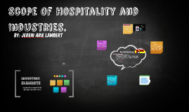 Scope Of Hospitality and Industries.