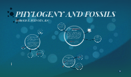 PHYLOGENY AND FOSSILS