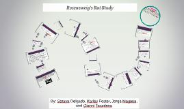Rosenzweig's Rat Study