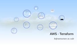 AWS - Terraform