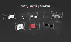 Copy of Cuñas, Cuñeros y Arandelas