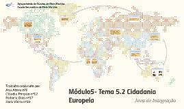 Copy of Módulo5- Tema 5.2 Cidadania Europeia