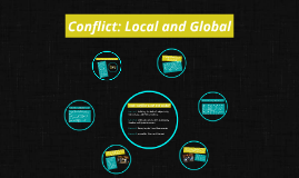 Conflict: Local and Global