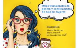 ROLES TRADICIONALES DE GÉNERO Y CONSTRICCIONES DE OCIO EN MU