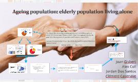 Aging population: elderly population living alone