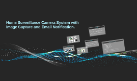 Copy of Home Surveillance Camera System with Image Capture and Email