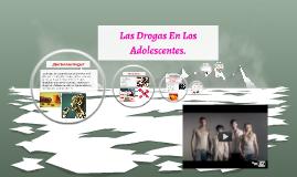 Las Drogas En Los Adolescentes.