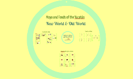 Copy of Food in the New and Old Worlds