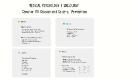 Seminar VII: Medical Psychology & Sociology