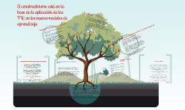 Copy of El modelo constructivista aplicado en el proceso de aprendizaje con las nuevas tecnologías