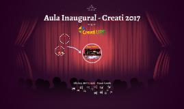 Aula Inaugural - Creati 2016