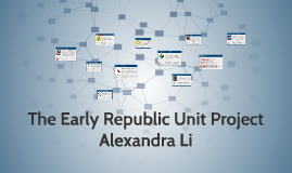 The Early Republic Unit Project