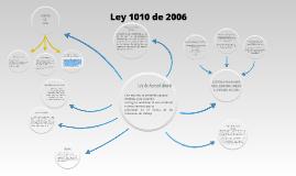 Copy of Mapa Mental Ley 1010 de 2006