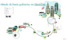 Mando del buen gobierno en mazatlàn.
