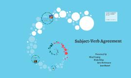 Grammar Project Subject-Verb Agreement