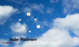 Sabr/Patience