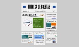 ENTREGA DE BOLETAS 4° BIM_2I