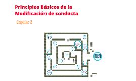 Copy of Principio básicos de la modificación de la conducta