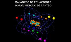 Balanceo de ecuaciones por metodo algebraico online dating
