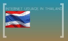 THAILAND internet usage