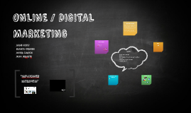 ONLINE / DIGITAL MARKETING