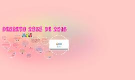 Copy of Decreto 2353 de 2015