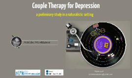 Systemic Couple Therapy for depression Efficacy of a short-term intervention protocol
