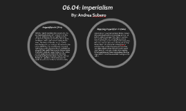 06.04 19th Century Changes - Imperialism