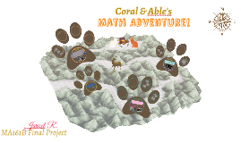Coral and Able's Math Adventure