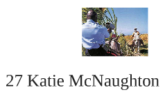 27 Katie McNaughton