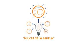 DULCES DE LA ABUELA