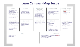 Copy of Lean Canvas - Map focus