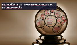 Copy of DECORRÊNCIA DA TEORIA NEOCLASSICA: TIPOS DE ORGANIZAÇÃO