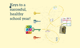 Keys to a  successful, healthy school year!
