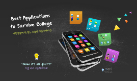 Best Applications to Survive College