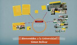 Bienvenidos a la Universidad Simon Bolivar