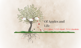 Of Apples and Life