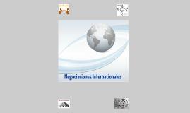 Negociaciones Internacionales