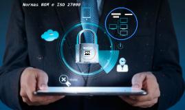 Normas NOM y ISO 27000