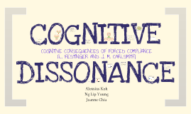 AY12/13 PL3235 Cognitive Dissonance Presentation