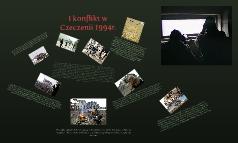Konflikt w Czeczenii 1994r.