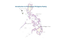 Pre-Colonial Poetry in the Philippines