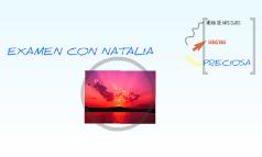 EXAMEN CON NATALIA